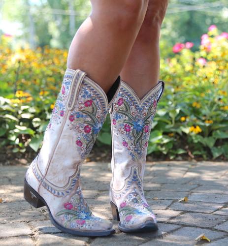 Lane Chloe Dusty Tan Boots LB0418B Front