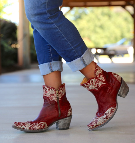 Old Gringo Erin Short Red Boots BL3084-4 Picture