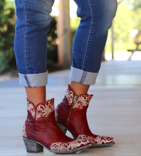 Old Gringo Erin Short Red Boots BL3084-4 Image