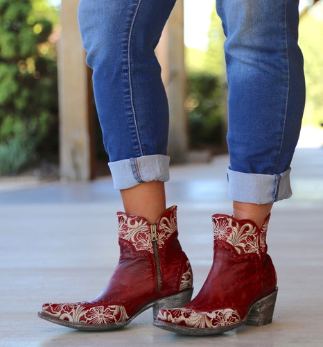 Old Gringo Erin Short Red Boots BL3084-4 Photo