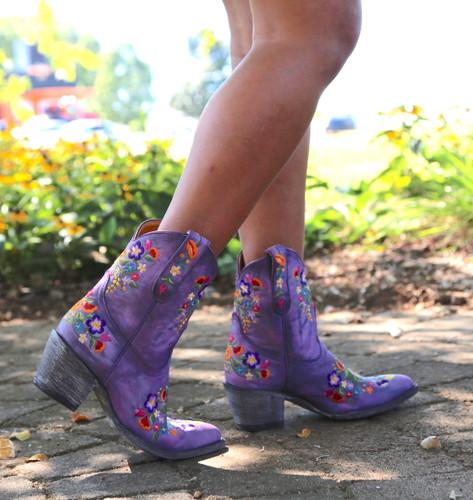 Old Gringo Sora Short Violet Boots L841-41 Image