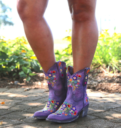 Old Gringo Sora Short Violet Boots L841-41 Photo