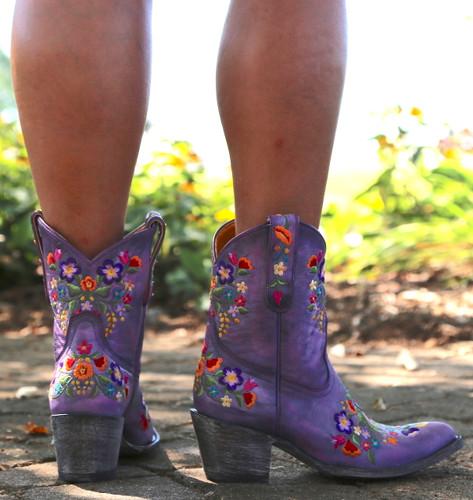 Old Gringo Sora Short Violet Boots L841-41 Heel