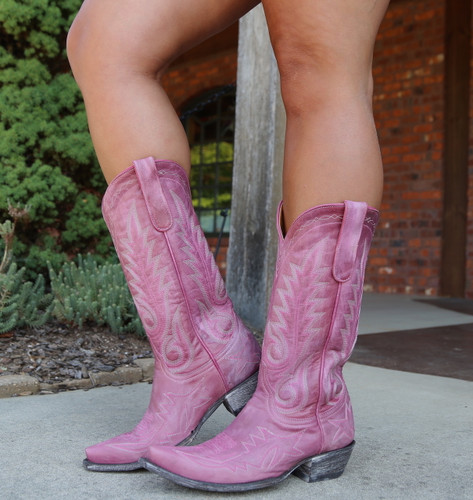 Old Gringo Nevada Pink Boots L175-426 Image