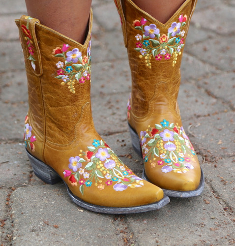 Old Gringo Sora Buttercup Boots L841-40 Embroidery