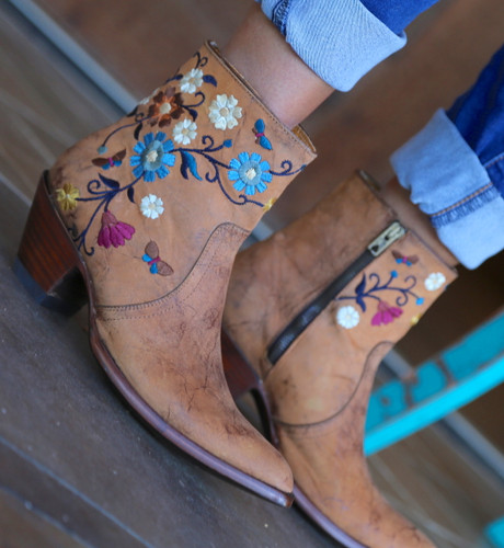 Old Gringo Catlyn Brass Boots BL3236-1 Embroidery
