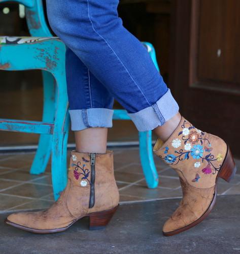 Old Gringo Catlyn Brass Boots BL3236-1 Zipper