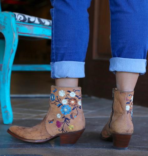 Old Gringo Catlyn Brass Boots BL3236-1 Heel