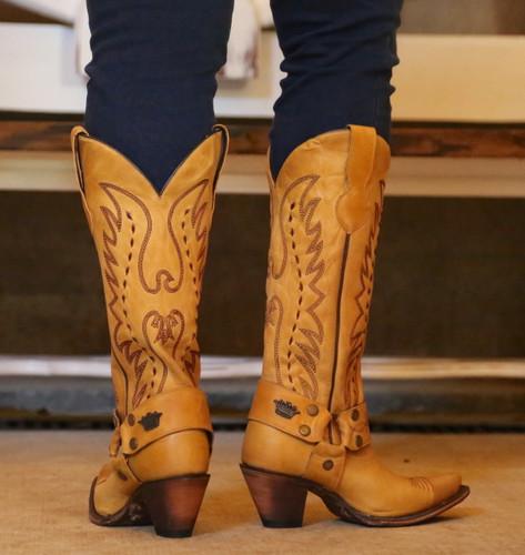 Junk Gypsy by Lane Vagabond Mustard Boots JG0030C Heel