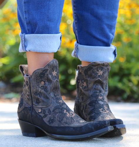 Old Gringo Bonnie Short Brown Boots BL2974-1 Picture