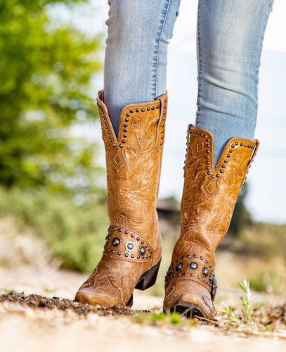 Double D by Old Gringo Ranchitos Ridge Bone Boots DDL011-5 Picture