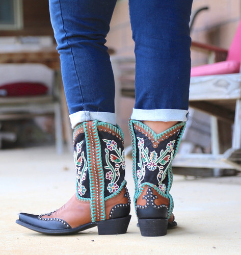Double D by Old Gringo Capistrano Boots DDL042-1 Heel