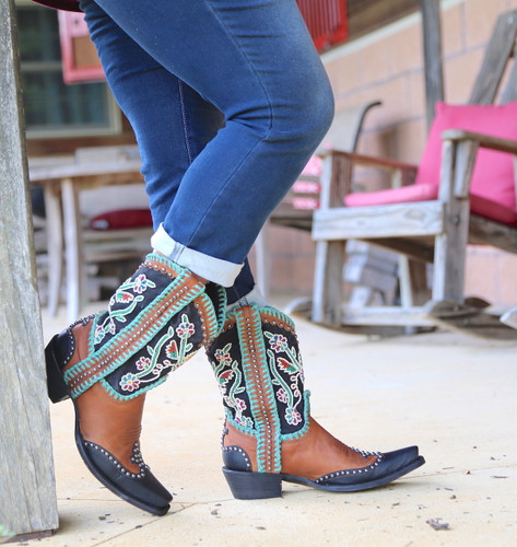 Double D by Old Gringo Capistrano Boots DDL042-1 Toe