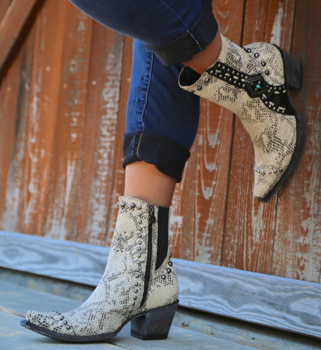 Double D by Old Gringo Four Winds White Boots DDL045-2 Picture