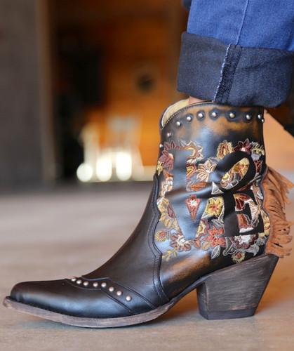 Yippee by Old Gringo Loving Boots YBL380-1 Fringe