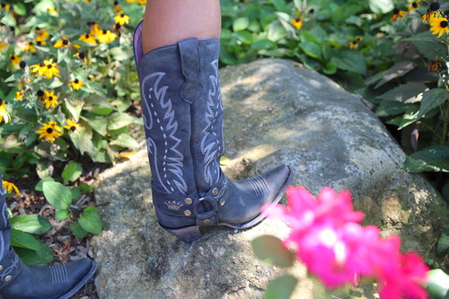Junk Gypsy by Lane Vagabond Black Boots JG0030B Toe