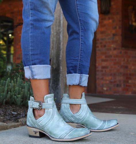 Lane Cahoots Turquoise Boots LB0393D Image