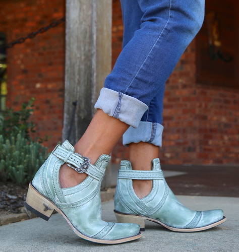 Lane Cahoots Turquoise Boots LB0393D Picture