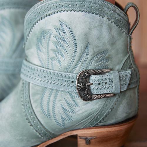 Lane Ballyhoo Bootie Turquoise LB0419D Detail