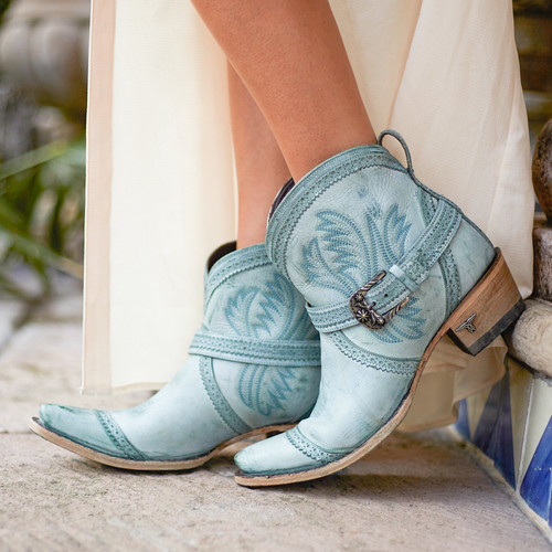 Lane Ballyhoo Bootie Turquoise LB0419D Picture