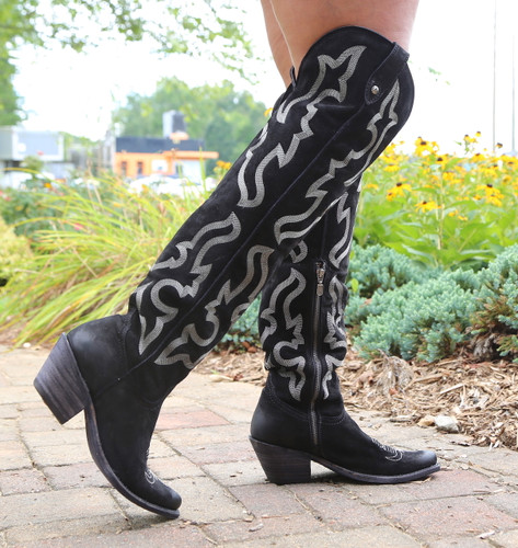Liberty Black Allyssa Negro Tall Boots LB712989 Photo