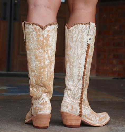 Liberty Black Judith Cobre Mantequilla Boots LB713100 Heel