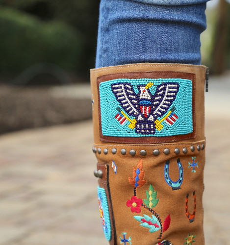 Double D by Old Gringo American Assemblage Boots DDL051-1 Beaded