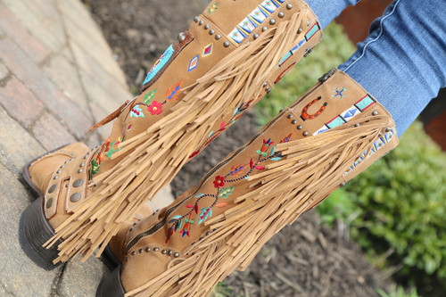 Double D by Old Gringo American Assemblage Boots DDL051-1 Fringe
