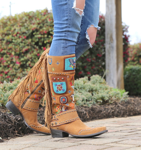 Double D by Old Gringo American Assemblage Boots DDL051-1 Zipper