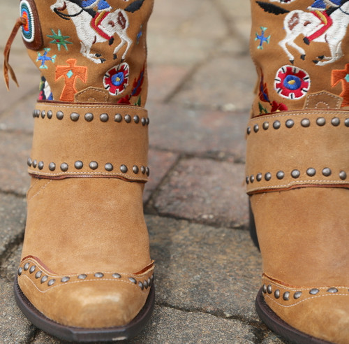 Double D by Old Gringo American Assemblage Boots DDL051-1 Toe