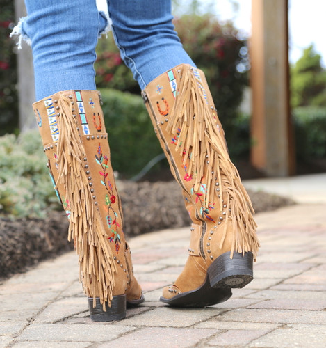 Double D by Old Gringo American Assemblage Boots DDL051-1 Heel