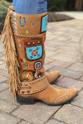 Double D by Old Gringo American Assemblage Boots DDL051-1 Studs