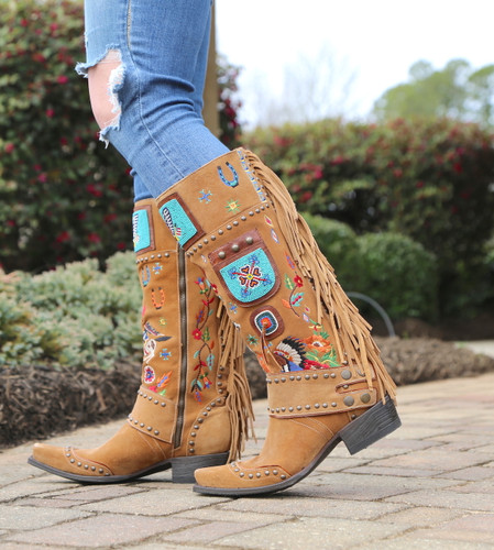 Double D by Old Gringo American Assemblage Boots DDL051-1 Image