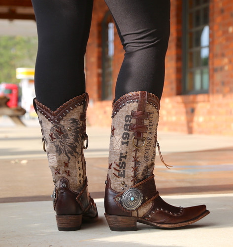 Double D by Old Gringo Mercantile Makeshifter DDL055-1 Boots