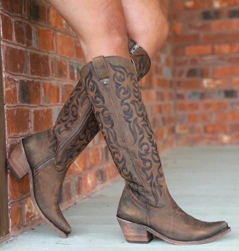 Liberty Black Allie Vegas T Moro Stonewash Boots LB712988 Photo