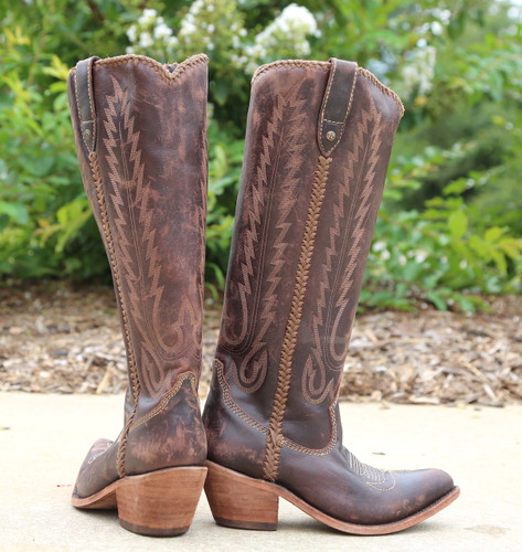 Liberty Black Judith Boots Mossil Cafe LB713100 Heel
