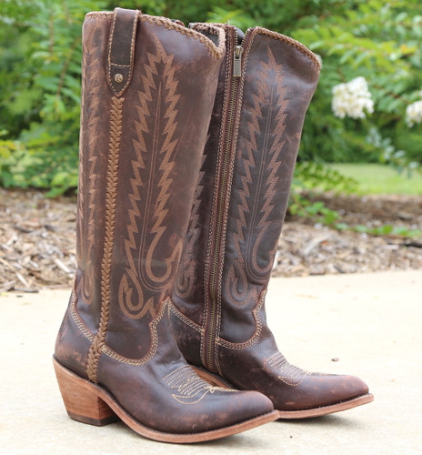 Liberty Black Judith Boots Mossil Cafe LB713100 Picture