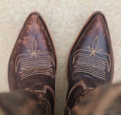 Liberty Black Judith Boots Mossil Cafe LB713100 Toe
