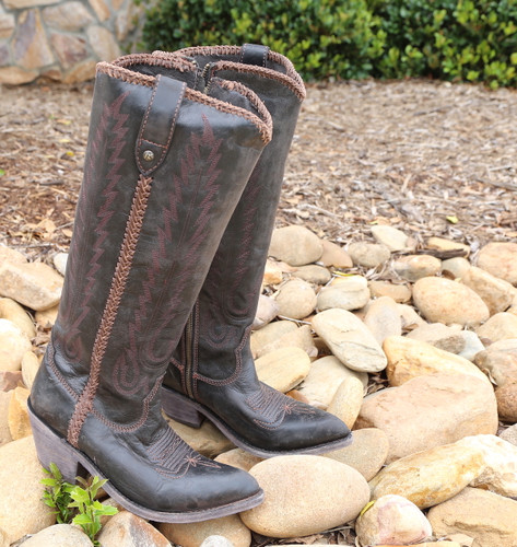 Liberty Black Judith Boots Mossil Negro LB713100 Picture