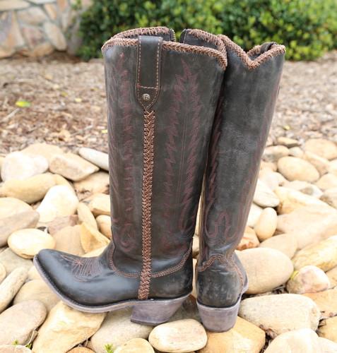 Liberty Black Judith Boots Mossil Negro LB713100 Heel
