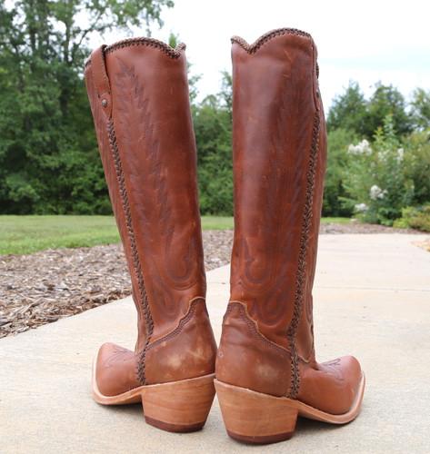Liberty Black Judith Boots Mossil Miel LB713100 Heel