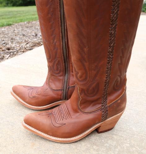 Liberty Black Judith Boots Mossil Miel LB713100 Toe
