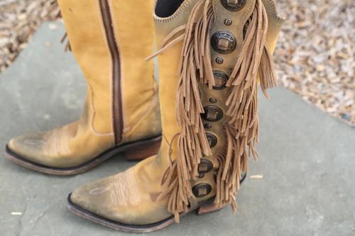 Liberty Black Ophelia Boots Hueso Claro LB712953 Toe