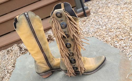 Liberty Black Ophelia Boots Hueso Claro LB712953 Photo
