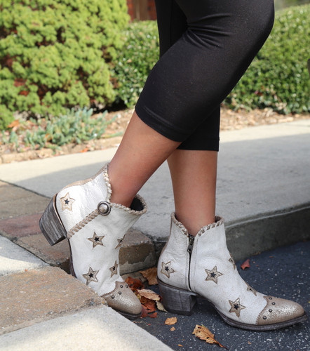 Yippee by Old Gringo Glamis Crackled Taupe YBL357-1 Boots