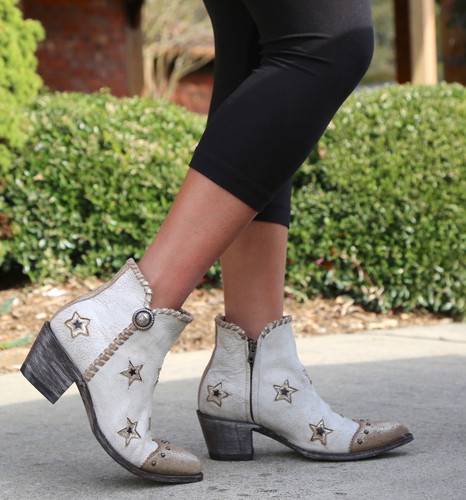 Yippee by Old Gringo Glamis Crackled Taupe YBL357-1 Image