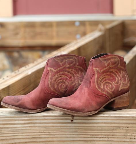 Liberty Black Madison Boots Vegas Rojo LB713709 Image