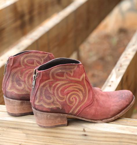 Liberty Black Madison Boots Vegas Rojo LB713709 Photo