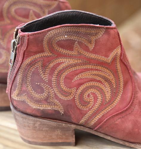 Liberty Black Madison Boots Vegas Rojo LB713709 Detail