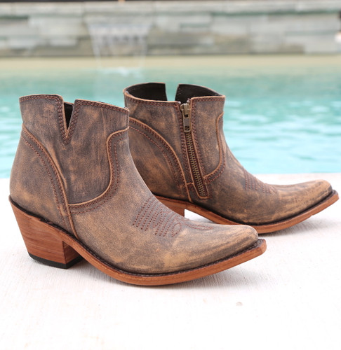 Liberty Black Prya Boots Vintage Canela LB711246 Picture